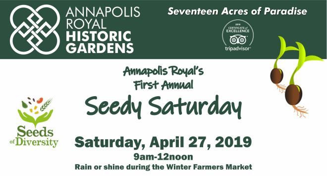 Seedy Saturday 2019 - Facebook Banner