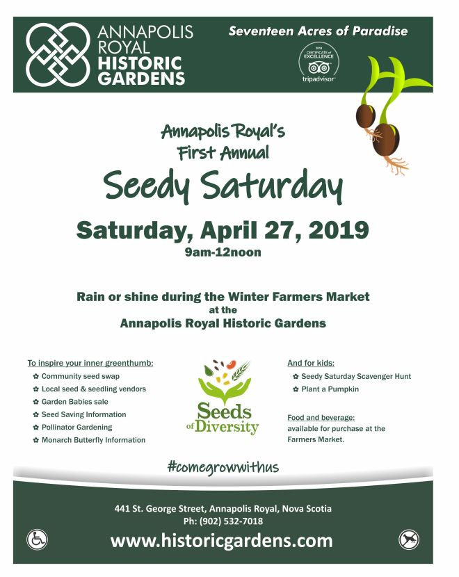 Seedy Saturday 2019